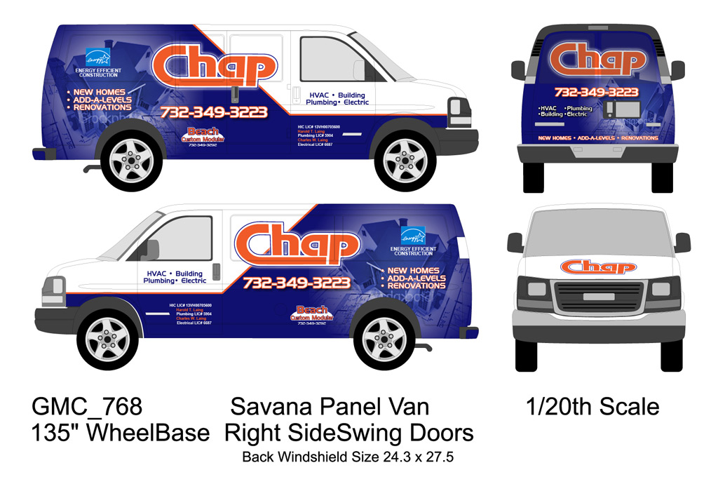Professional Vehicle Wrap Design