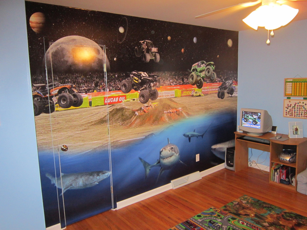 Custom Wall Murals Design Installation WrapThatCar